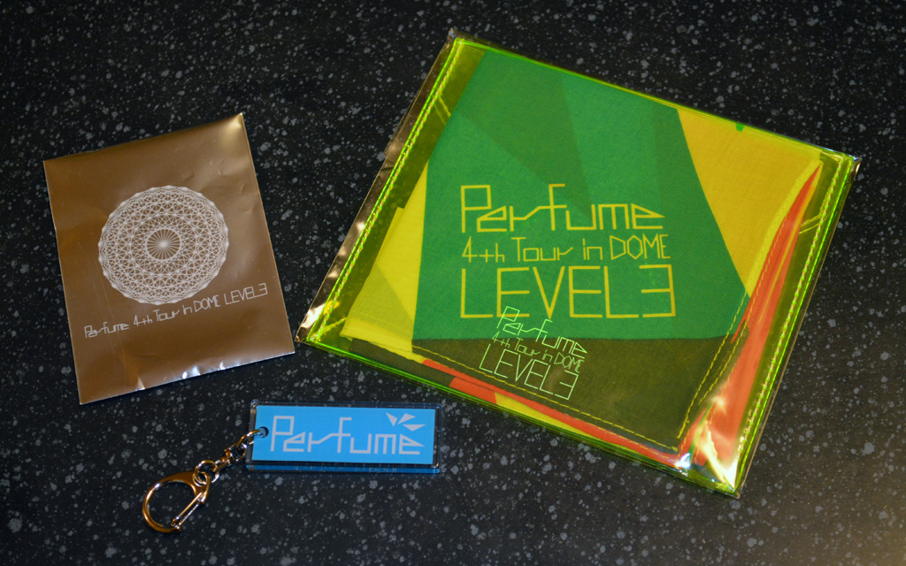 Perfume LEVEL3 Tour goods